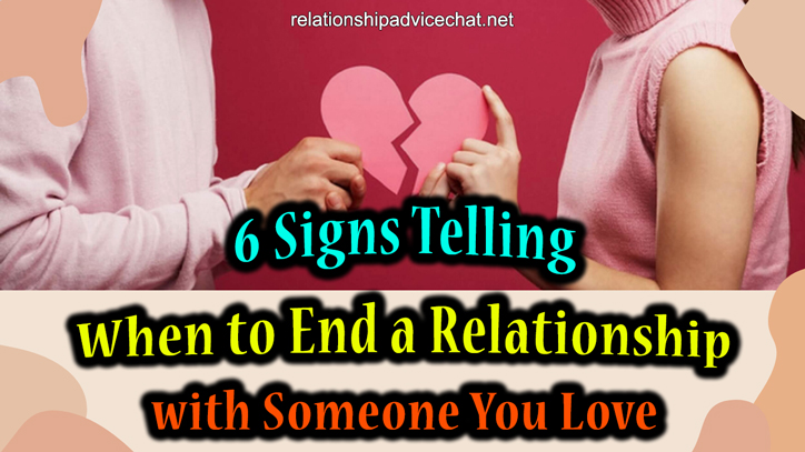 When to End Your Relationship?