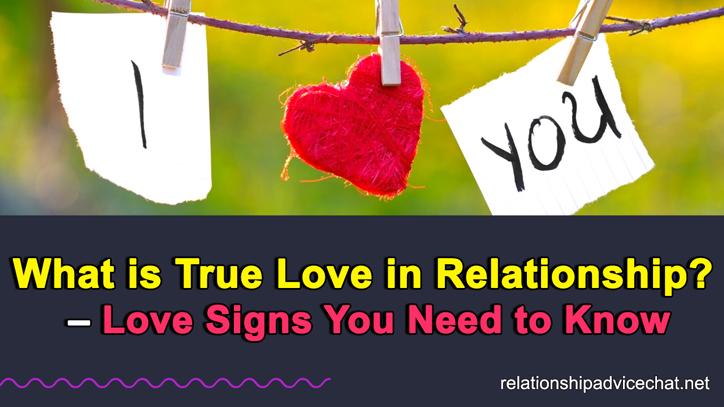 True Love in a Relationship