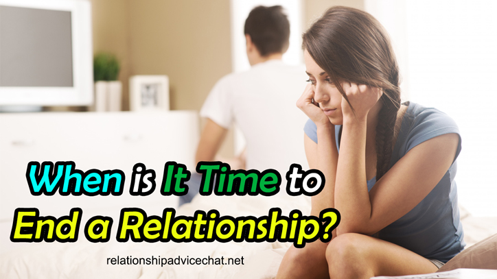 When It's Time to Let a Relationship Go?
